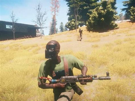 rust players random mask game permanent assigning responds developer controversy gender race breitbart