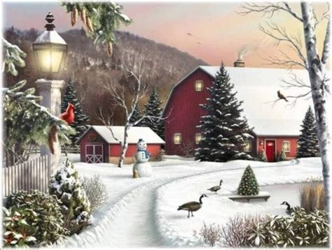 Images Paysages Hiver