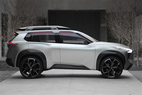 nissan xmotion suv   screen  car  verge