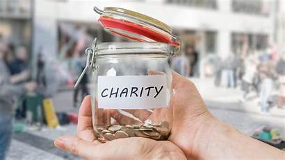 Charity Jar Money Donate Donating Tips Community
