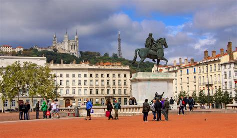 place bellecour plaza in lyon thousand wonders