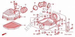 Air Cleaner  1 8l  For Honda Cars Civic Ex 4 Doors 5 Speed