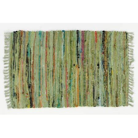 Rag Rugs Walmart by Sturbridge 2 X 3 Green Rag Rug Walmart