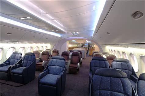 simulation cuisine en ligne boeing 787 dreamliner l 39 avion de demain un intérieur