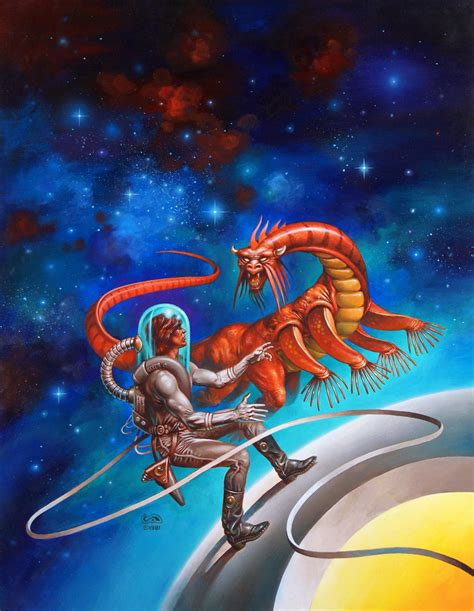 voyage   space beagle clyde caldwell