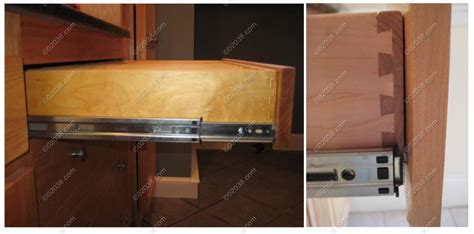 Cabinet Drawer Glides by How To Spot Kitchen Cabinet Quality Franklin Ma