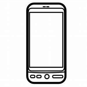 Collection of mobile phone icons free download