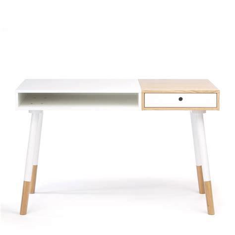 achat bureau design bureau design bois et blanc mzaol com