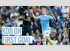 Kevin De Bruyne on scoring his 1st Man City goal v West