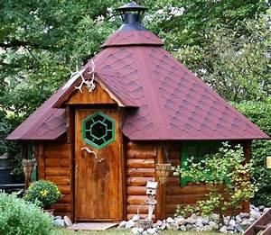 Steinbrunnen Für Den Garten : eine grillh tte f r den garten ~ Bigdaddyawards.com Haus und Dekorationen