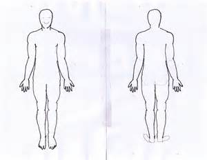 Anatomical Human Body Outline