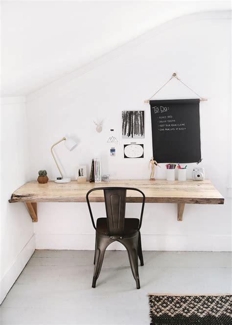 diy live edge desk the merrythought