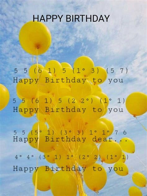 Regular updates to try out as many songs and music as possible; Happy Birthday Song - Kalimba tabs | Piano notes songs, Song notes, Piano sheet music beginners