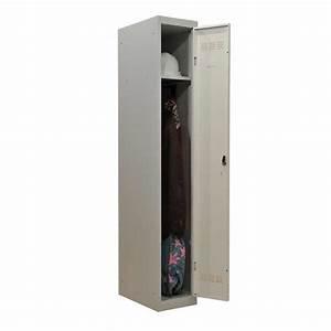 Armoire Vestiaire Métallique : vestiaire industrie propre 1 case 30cm armoire plus ~ Teatrodelosmanantiales.com Idées de Décoration