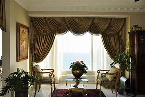 Drapery, curtains, and window coverings - Traditional