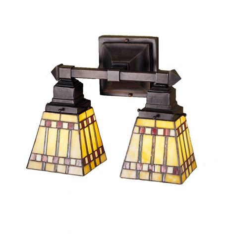 Stained Glass Bathroom Light Fixtures by Meyda 24278 Glass Stained Glass