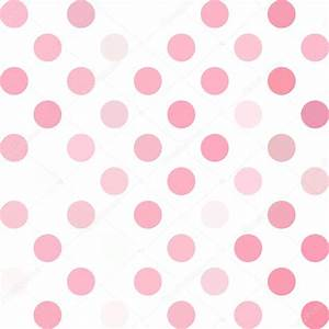 Hot Pink Polka Dot Border For Invitations - WallsKid