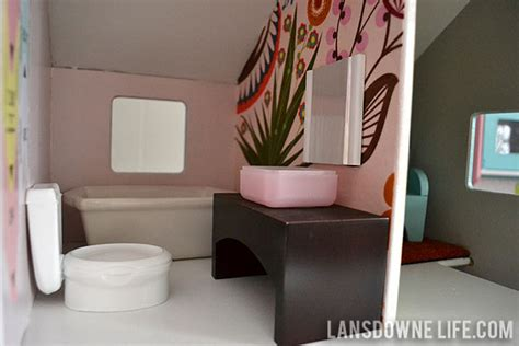 modern diy dollhouse  homemade furniture part