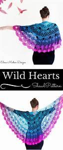 Crochet Shawl Pattern  Crochet Pattern
