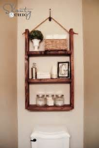diy bathroom storage handspire - Bathroom Shelf Idea
