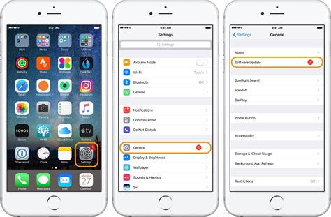 apple iphone update how to approach updating software on iphone and 1