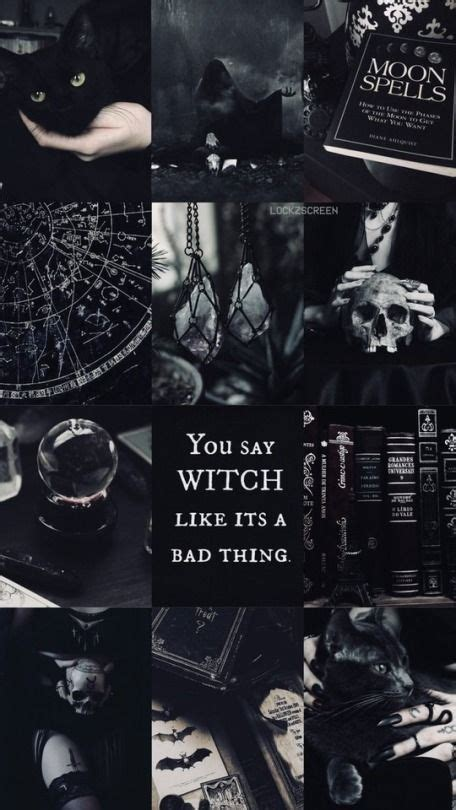 is my aesthetic witchy wallpaper witch