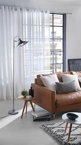 les 73 meilleures images du tableau salons sur pinterest With couleur pour le salon 0 des rideaux gris argent matieres pour un salon au style