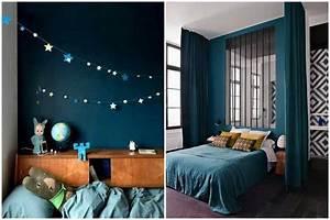Couleur Bleu Canard Deco : bleu canard osez cette couleur dans votre d coration int rieure chambre pinterest d co ~ Melissatoandfro.com Idées de Décoration