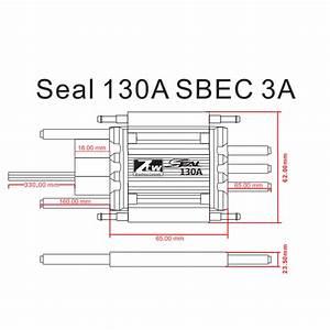 Seal 130a Sbec 3a Rc Brushless Esc Rc Esc Shenzhen Ztw