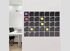 HOME DZINE Craft Ideas DIY Chalkboard wall calendar ideas