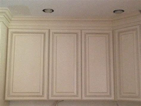 Kitchen Cabinet Ideas 2014 - advice on uneven ceiling in kitchen and uneven crown molding