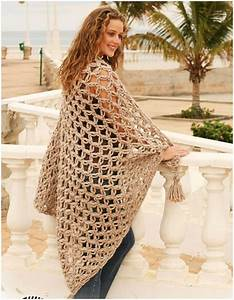 Spanish Wrap Shawl Blanket [Free Crochet] - STYLESIDEA