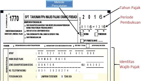 contoh pengisian spt tahunan  wajib pajak ukm kategori wp pp  jo pp   forum pajak
