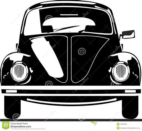 volkswagen beetle front view vw beetle front view stock vector illustration of vector