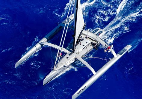 Trimaran Fund by Trimaran Paradox 169 Jouany Christophe Yacht Charter