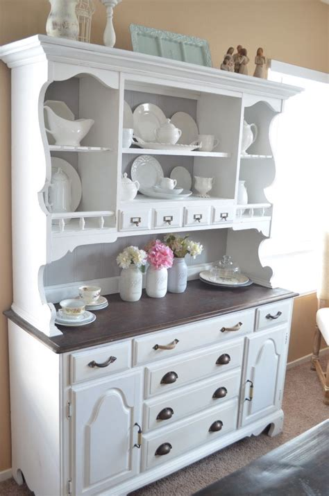 painted kitchen hutches best 25 hutch decorating ideas on china