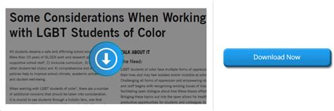 Some Considerations When Working With Lgbt Students Of