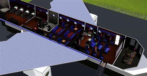 cuisine de jeu sims 3 avion privé airplane architecture