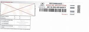 Suivi Lettre Recommandée Avec Accusé De Réception : la poste lettre recommand avec accus de r ception suivi ~ Medecine-chirurgie-esthetiques.com Avis de Voitures