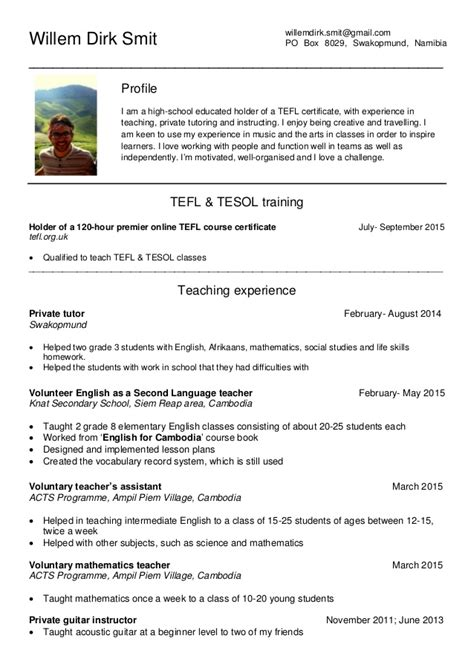 tefl cv 15 september update pdf