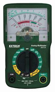 Commercial Electric Multimeter Instructions
