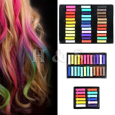 High Quality Temporary Hair Dye Pastels Chalk 12 24 36