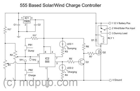 Solar Charge Controller Function Details