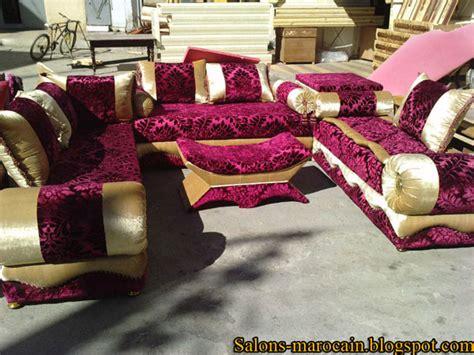 tissu pour canapé marocain salon marocain décoration maison 2014