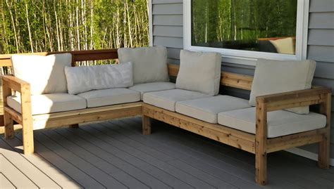 diy sectional sofa plans diy outdoor sectional sofa ryobi nation thesofa