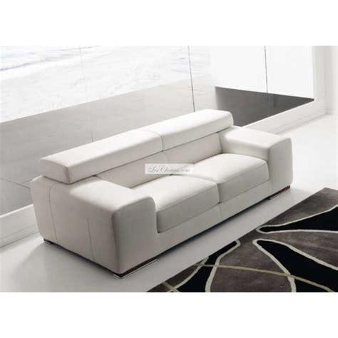 canape cuir design contemporain canapé en cuir design sirio par rosini et canapés cuir contemporain rosini 2 places 3places