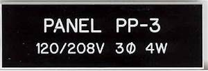 engraved panel tags nameplates With engraved electrical labels