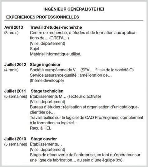 Comment Présenter Vos Stages Sur Votre Cv ?  L'etudiant. Cover Letter Example For Job Uk. Cover Letter Help For A Job. Resume Objective Examples Business Analyst. Curriculum Vitae Mean In Urdu. Objective For Resume College. Letter Of Leave Application To Principal. Cover Letter For Customer Service In Insurance. Proposal Letter Word Template