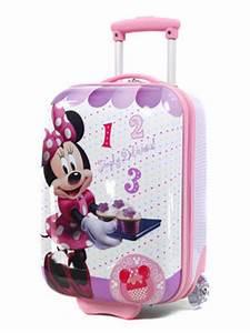 Valise Enfant Fille : valise cabine disney minnie 48 cm valise cabine rigide 2 roues disney minnie 48 cm ~ Teatrodelosmanantiales.com Idées de Décoration