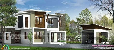 contemporary house design   view architects kerala